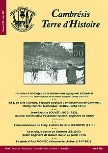 Cambrésis Terre d'Histoire n° 89